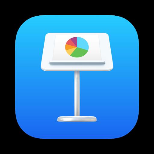 409183694 La suite iWork (Pages, Numbers, Keynote) change dicônes pour macOS Big Sur