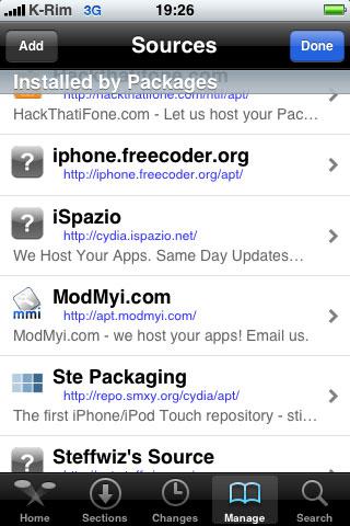 iphone3gsystem theme 05 Tutorial   Installer le thème officiel iPhone3GSystem