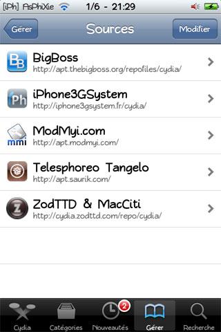 IMG 0197 Tutoriel   Ajouter la source, repo Cydia iPhone3GSystem