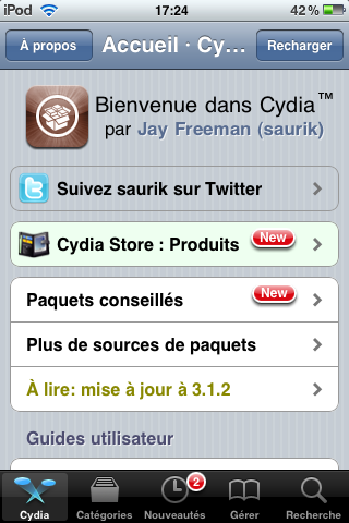 Test   Cydia VS RockApp