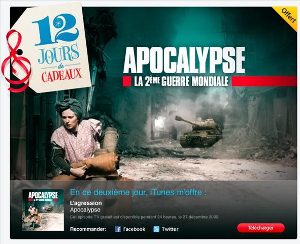 ScreenShot025 iTunes   12 jours de cadeaux, Apocalypse