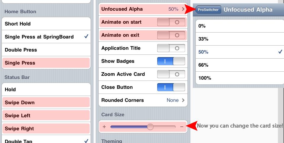 11 Cydia   ProSwitcher mod : Gestionnaire de tâches sur iPhone