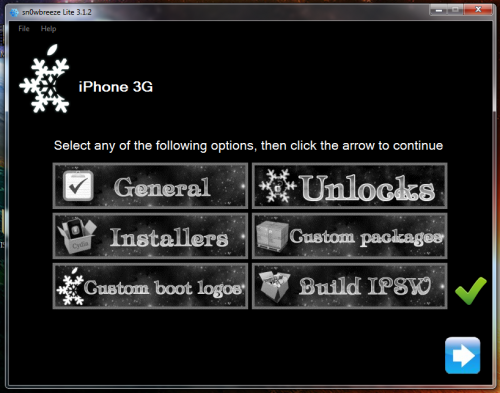 111 500x393 Tutoriel – Jailbreak Sn0wbreeze 1.4 firmware 3.1.3 iPhone v1/3G/3GS et iPod Touch 1G/2G/3G (Windows)