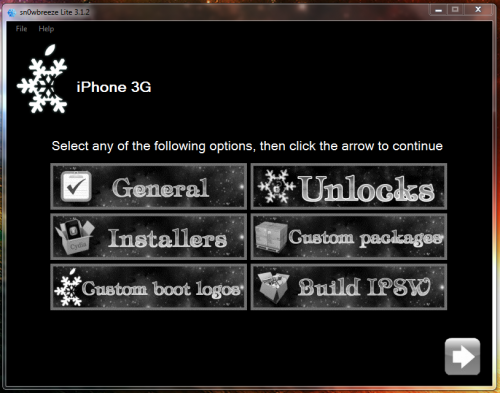 31 500x393 Tutoriel – Jailbreak Sn0wbreeze 1.4 firmware 3.1.3 iPhone v1/3G/3GS et iPod Touch 1G/2G/3G (Windows)