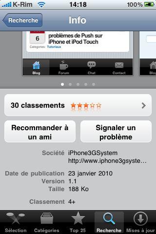 IMG 0862 AppStore   iPhAccess mis à jour en version 1.1