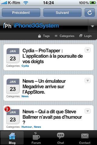 IMG 0863 AppStore   iPhAccess mis à jour en version 1.1