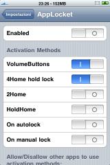 IMG 0872 160x240 Cydia   AppLocket 1.3.0 : Bloquer laccès à vos applications