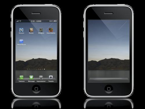 iPadTheme1 Cydia   Thème iPad pour iPhone et iPod Touch