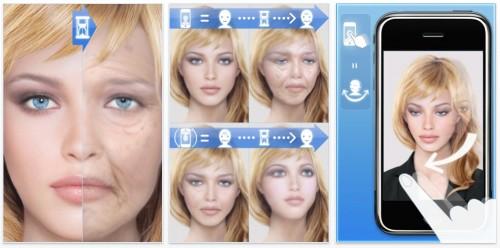 imghourfacecenter AppStore   Hour Face : à quoi ressemblerez vous une fois vieux ?
