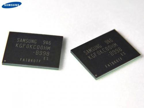 samsung News   Samsung à créé une mémoire Flash NAND de 64 Go