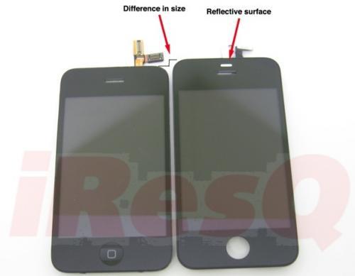2 Rumeur   lécran de liPhone 4G en photos