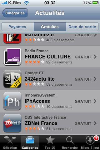 IMG 0900 AppStore   iPhAccess : le bilan depuis le 20/01/2010  !
