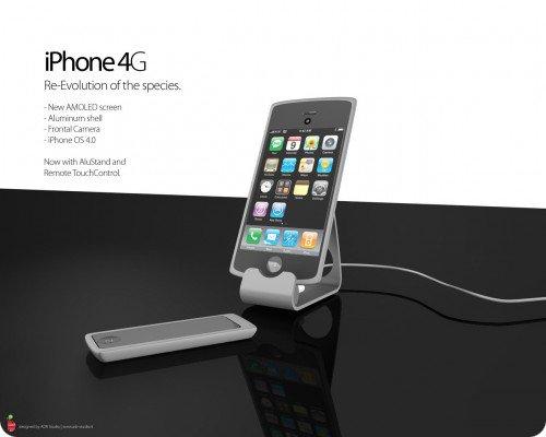 concept1267113063 Concept   iPhone 4G : Photos et Vidéo du concept de Antonio De Rosa