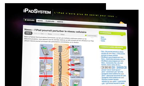ipadsystem iPad   Lancement du blog iPadSystem