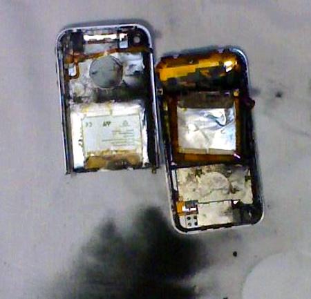 iphone explode News   Explosion dun iPod Touch dans une école Américaine