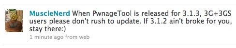 musclenerd News   PwnageTool 3.1.3 bientôt disponible