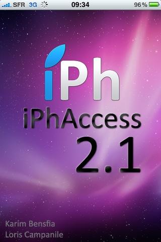 photo AppStore   iPhAccess 2.1 enfin validée par Apple