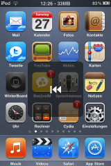 volumebuttonextender2 160x240 Cydia   Volume Button Extender : Changez vos musiques avec les boutons de volume