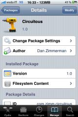 11 Cydia   Circuitous : Gestion gratuite du multitâches sur iPhone