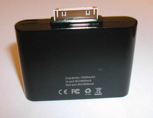 32 500x386 iPhBoutique   Test batterie externe 1000 mAh iPhone 1G 3G / iPod Touch 1G 2G 3G