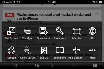 5 Cydia   UC Browser : Navigateur web gratuit excellente alternative à Safari Mobile