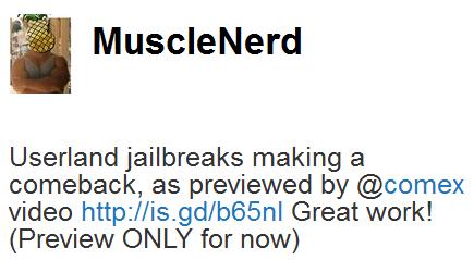 Capture Jailbreak   Comex : Une nouvelle vidéo de Jailbreak Untethered 3.1.3 pour tous iPhone et iPod Touch