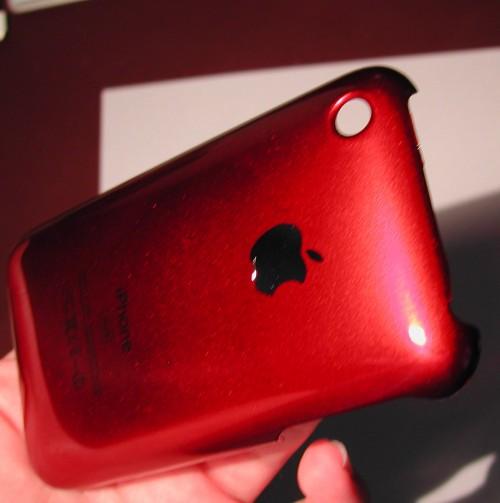 DSCN4460 500x503 iPhBoutique   Coques iPhone 3G / 3GS couleurs Or, Bleu, Jaune, Mauve, Orange, Rose et Rouge