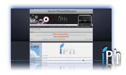 ForumPrez News   Le forum iPhone3GSystem change de politique