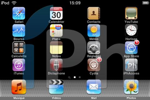 IMG 00031 Tutoriel   Crack SBRotator 1.0 pour iPhone et iPod Touch