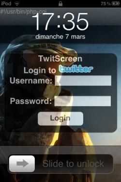 IMG 00061 250x375 Cydia   TwitScreen : Un nouveau Cydget sur votre Lockscreen