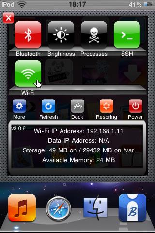 IMG 0017 Cydia   Mise à jour de SBSettings en 3.0.6 beta 4
