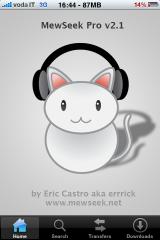 IMG 0588 160x240 Cydia   MewSeek Pro 2.1 : téléchargez directement des musiques depuis votre appareil