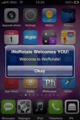 IMG 0954 160x240 Cydia   iNoRotate : Désactiver la rotation en mode paysage