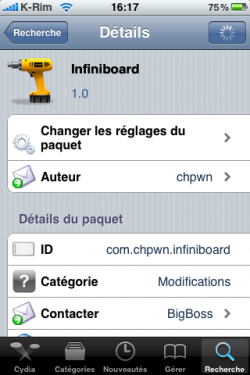 IMG 0973 250x375 Cydia   infiniBoard est enfin disponible sur Cydia