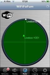 IMG 0974 160x240 Cydia   WIFIFoFum : Scanner tous les réseaux wifi autour de vous