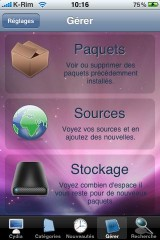 IMG 0987 160x240 Cydia   Thème MAC OS X pour votre un Cydia personnalisé