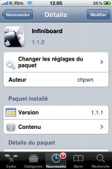 IMG 0991 160x240 Cydia   infiniBoard : Mise à jour en 1.1.2