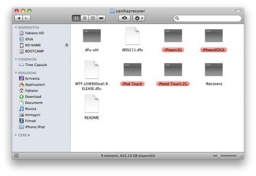Schermata 2010 03 08 a 08.19.35 500x344 Tutoriel   CanIHazRecover? : Faites enfin démarrer votre appareil bloqué sur la pomme