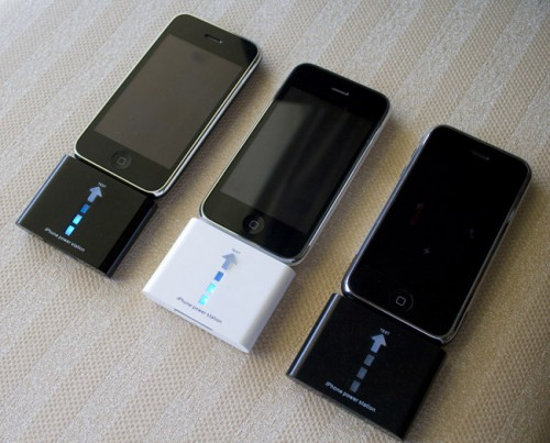 batterie externe iphone ipod touch 500x403 iPhBoutique   Test batterie externe 1000 mAh iPhone 1G 3G / iPod Touch 1G 2G 3G
