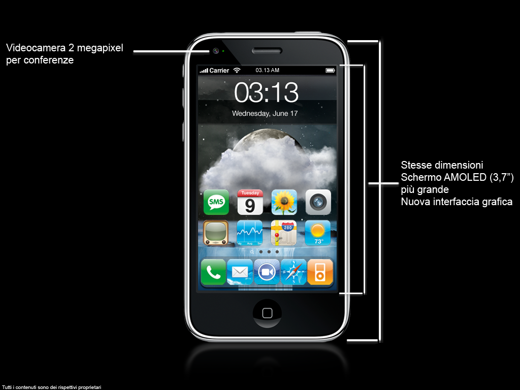 concept1 Concept   iPhone 4G : Un concept de plus de un ...