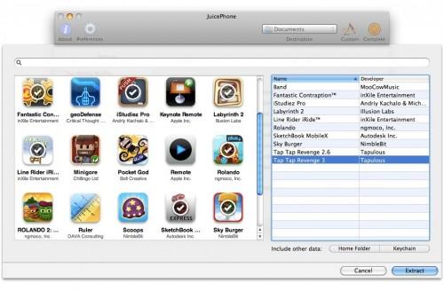 custom 500x328 News   JuicePhone : Extraire des données des sauvegardes iPhone