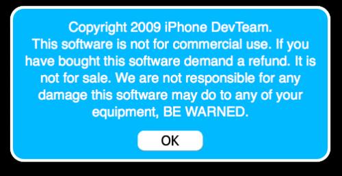 devteam Jailbreak   La DevTeam à trouvé un exploit pour le baseband 05.12.01 du firmware 3.1.3