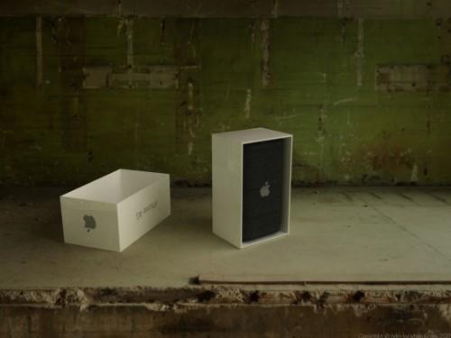 fotoreal3 500x375 Concept   Boîte et Dock pour iPhone 4G
