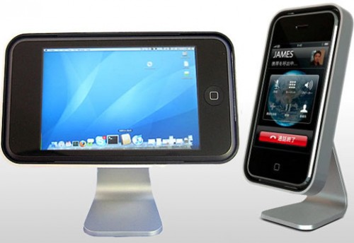 iclooly iphone stand 3g 500x3441 News    iClooly support pour iPhone et iPod Touch