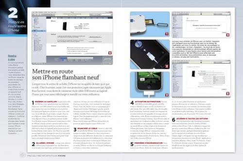 iphone page 016 017 500x333 iPhConcours   7 exemplaires du magazine spéciale iPhone par Presselivre à gagner sur iPhone3GSystem