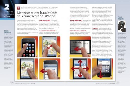 iphone page 020 021 500x333 iPhConcours   7 exemplaires du magazine spéciale iPhone par Presselivre à gagner sur iPhone3GSystem