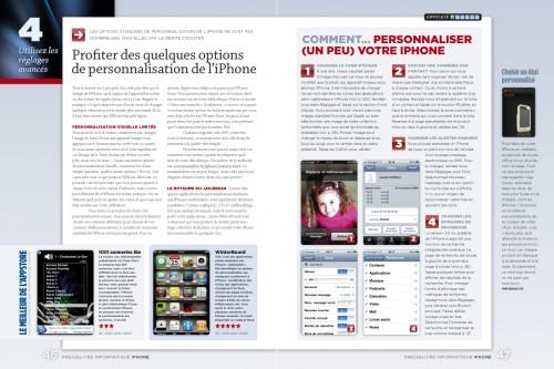 iphone page 046 047 500x333 iPhConcours   7 exemplaires du magazine spéciale iPhone par Presselivre à gagner sur iPhone3GSystem