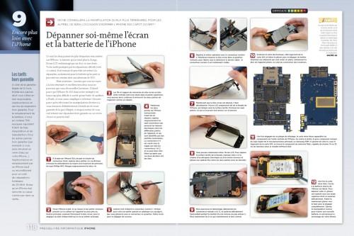 iphone page 118 119 500x333 iPhConcours   7 exemplaires du magazine spéciale iPhone par Presselivre à gagner sur iPhone3GSystem