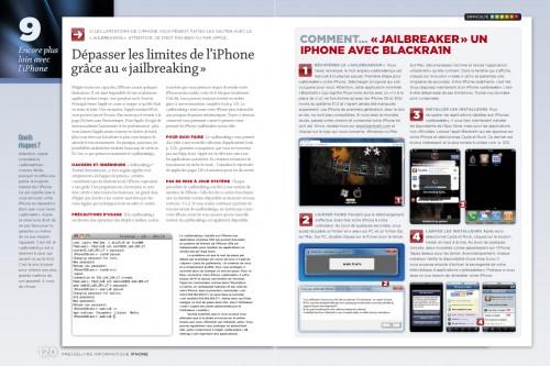 iphone page 120 121 500x333 iPhConcours   7 exemplaires du magazine spéciale iPhone par Presselivre à gagner sur iPhone3GSystem