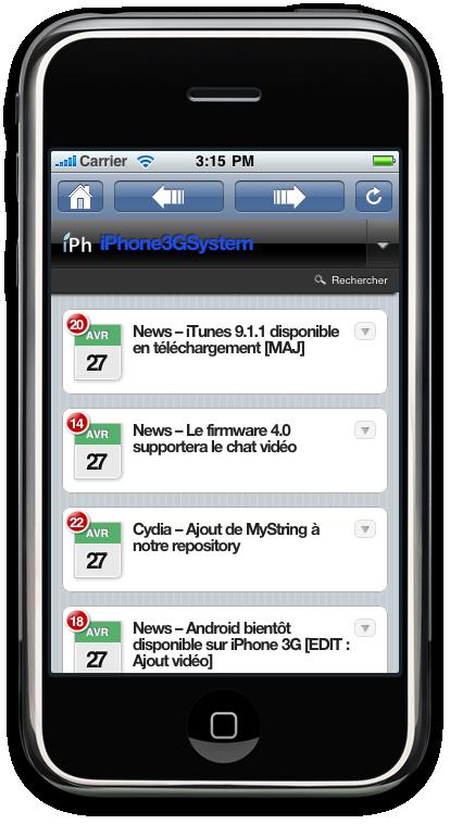 21 AppStore   iPhAccess 3.0 bientôt disponible [Preview Vidéo]